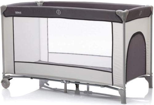 Patut pliabil Complet cu etaj grey Fillikid - Patuturi copii - Patut pliabil