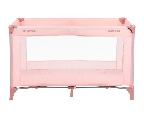 Patut pliabil cu un nivel So Gifted Pink 2020 - Patuturi copii - Patut pliabil