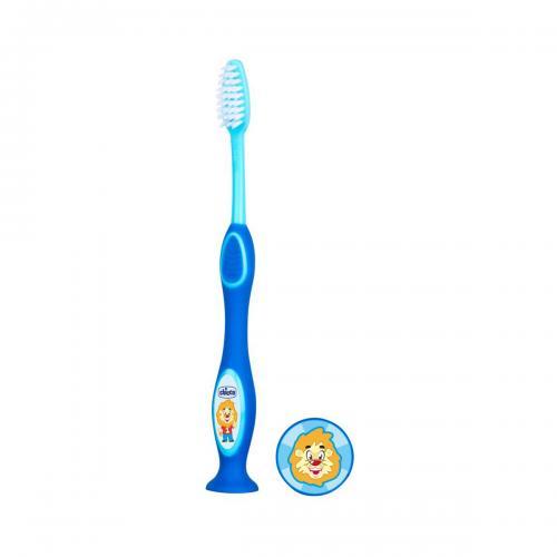 Periuta pentru dinti de lapte Chicco - 3 - 6 ani - Albastru - Ingrijire corporala - Igiena orala