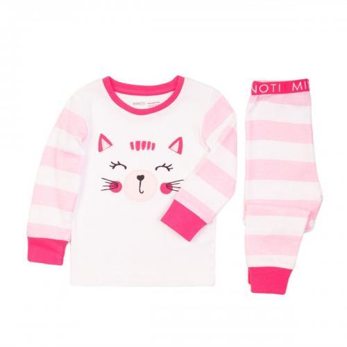 Pijama cu imprimeu Kitty Minoti Pyja - Imbracaminte copii - Pijamale copilasi