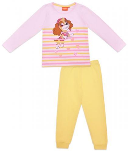 Pijama de fete cu imprimeu Paw Patrol - Skye - Galben - Imbracaminte copii - Pijamale copilasi