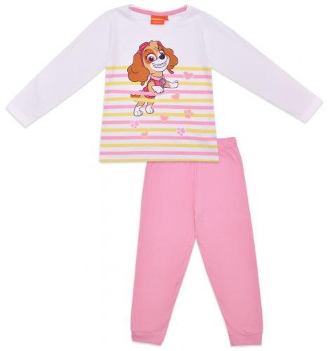 Pijama de fete cu imprimeu Paw Patrol - Skye - Roz - Imbracaminte copii - Pijamale copilasi
