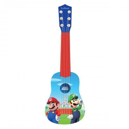 Prima mea chitara Lexibook - Super Mario - 53 cm - Jucarii interactive -