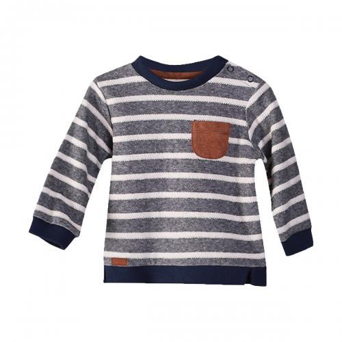 Pulover cu dungi Zippy - Imbracaminte copii - Bluze corp