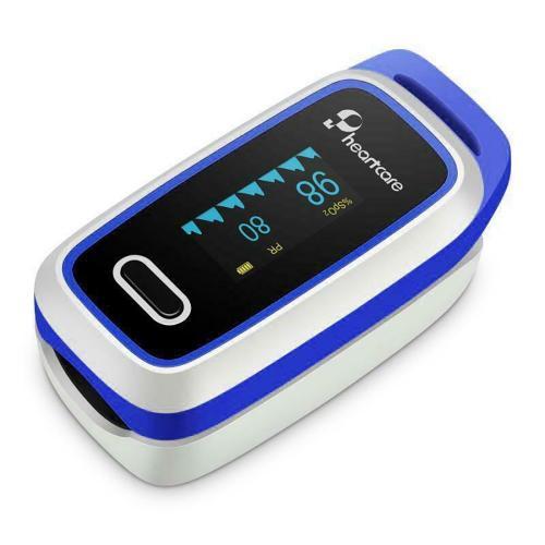 Pulsoximetru pentru deget Lepu - Alb - Ingrijirea bebelusului - Termometre si pulsoximetre
