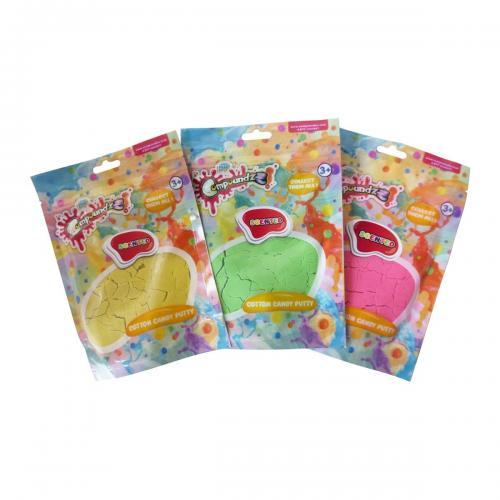 Punguta cu pasta modelatoare Parfumata Compoundzz - Cotton Candy - Seturi jucarii -