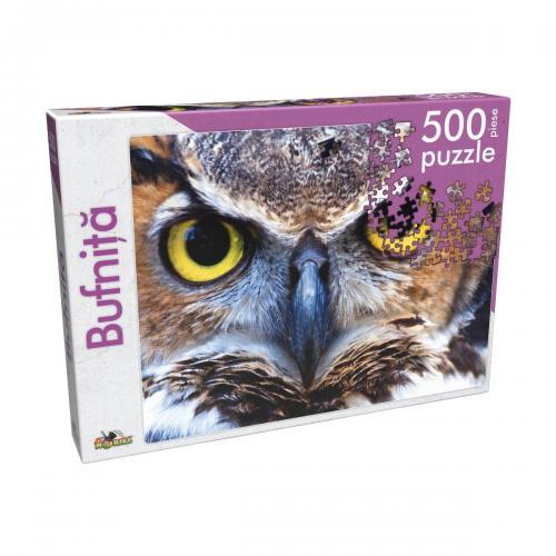 Puzzle clasic Noriel - Bufnita - 500 piese - jocuri cu puzzle -
