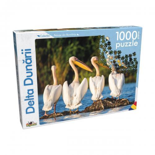 Puzzle clasic Noriel - Delta Dunarii - 1000 piese - jocuri cu puzzle -