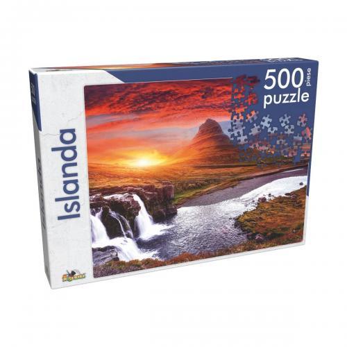Puzzle clasic Noriel - Islanda - 500 piese - jocuri cu puzzle -