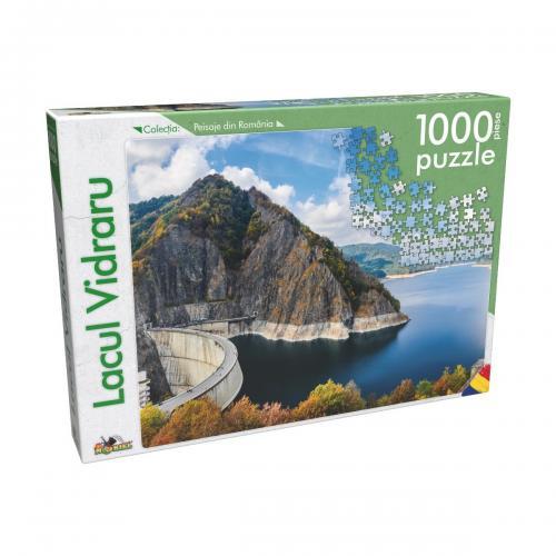 Puzzle clasic Noriel - Lacul Vidraru - 1000 piese - jocuri cu puzzle -