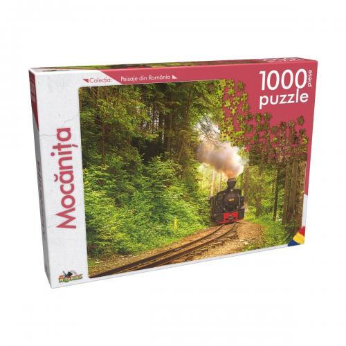 Puzzle clasic Noriel - Mocanita - 1000 piese - jocuri cu puzzle -