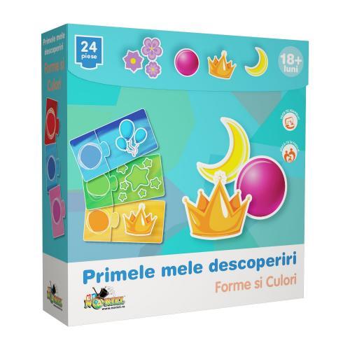 Puzzle Noriel Primele mele descoperiri - Forme si culori - jocuri cu puzzle -