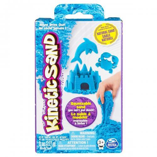 Rezerva nisip colorat Kinetic Sand - albastru - 227g - Seturi jucarii -