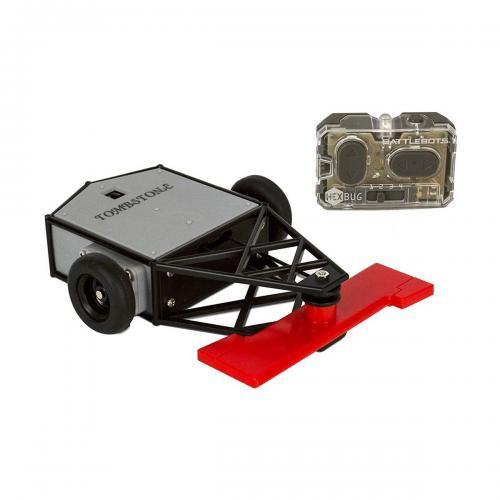 Robot de lupta cu telecomanda BattleBots Hexbug - Tombstone - 413-5185 - Jucarii interactive -