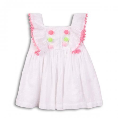 Rochie cu bretele Minoti Toucan - Imbracaminte copii - Rochii fetite