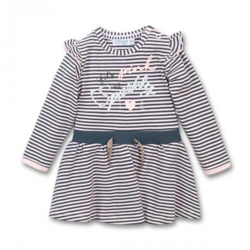 Rochie cu maneca lunga Fits Pink Dirkje - Imbracaminte copii - Rochii fetite