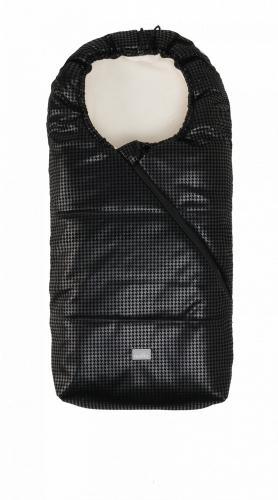 Sac de iarna 100cm Eco Black Leather Beige 9635 Nuvita Junior Pop - La plimbare - Accesorii carucioare