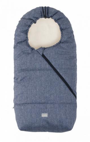 Sac de iarna 100cm Pop Melange Blue Beige 9635 Nuvita Junior Pop - La plimbare - Accesorii carucioare