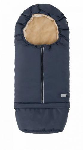 Sac de iarna 2 in 1 80105 cm Warm Blue Beige 9845 Nuvita Carry On - La plimbare - Accesorii carucioare