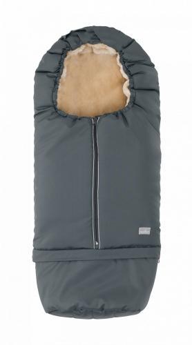 Sac de iarna 2 in 1 80105 cm Warm Dark Gray Beige 9845 Nuvita Carry On - La plimbare - Accesorii carucioare