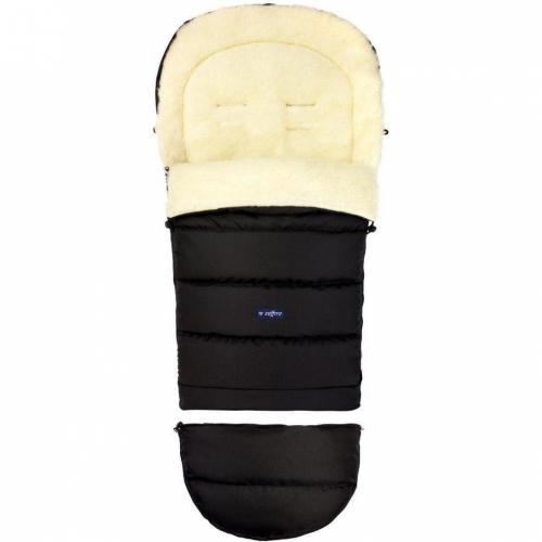 Sac de iarna iGrow Eco din lana oaie Womar Zaffiro 3Z-SW-20M negru - La plimbare - Accesorii carucioare