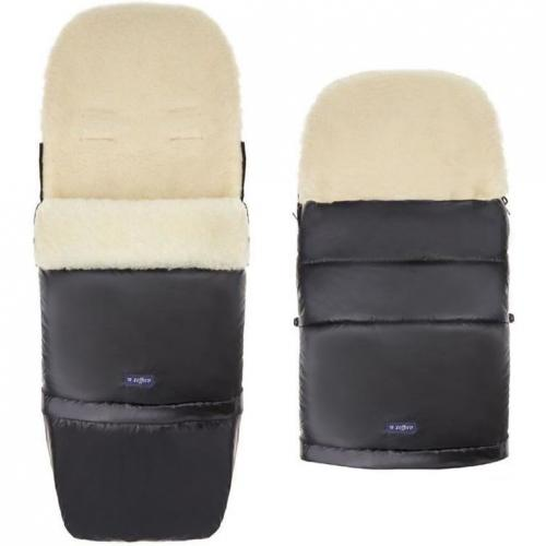 Sac de iarna Nego Pastel lana oaie Womar Zaffiro 3Z-SW-93L negru - La plimbare - Accesorii carucioare
