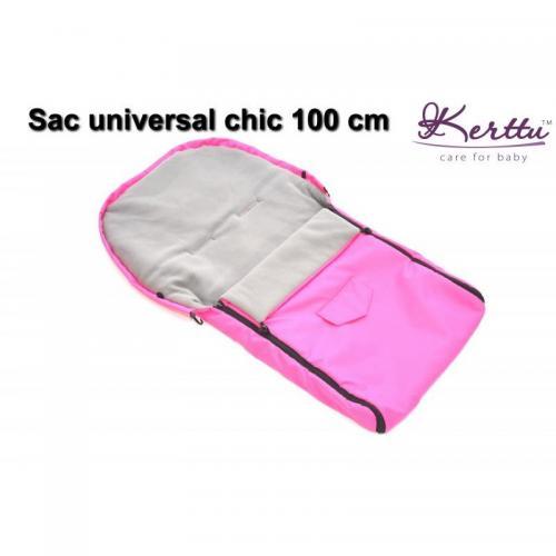 Sac de iarna universal Kerttu Chic 100 cm - La plimbare - Accesorii carucioare