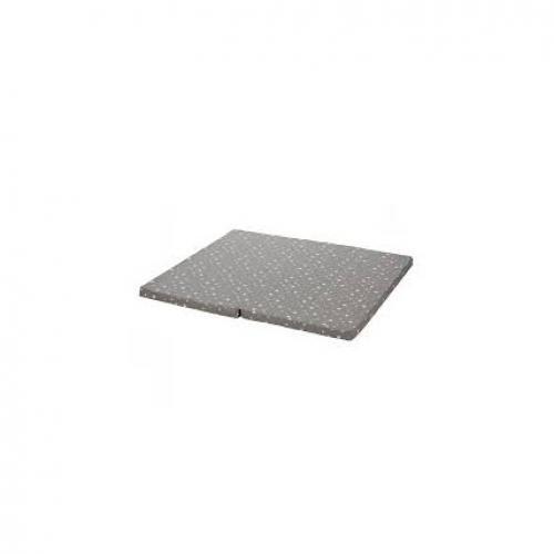Saltea pentru tarc copii 100x93 cm grey star Fillikid - Camera copilului - Saltele patut