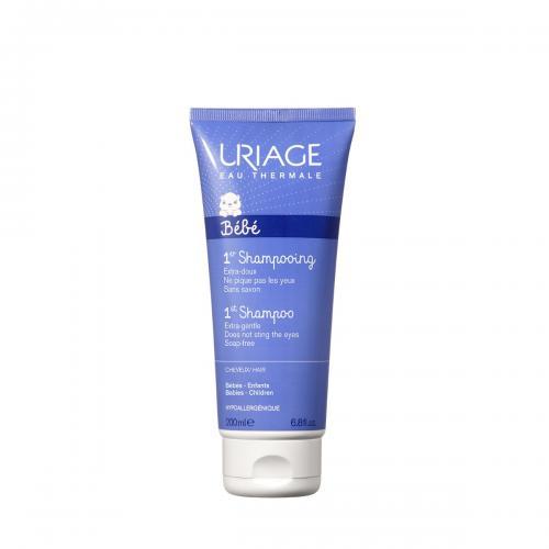 Sampon cu apa termala Uriage 1ER Bebe - 200 ml - Ingrijire corporala - Produse pentru par