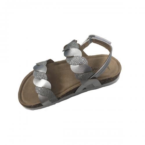 Sandale in curele impletite cu inchidere in catarama - Minoti Shoe - Imbracaminte copii - Incaltaminte copilasi
