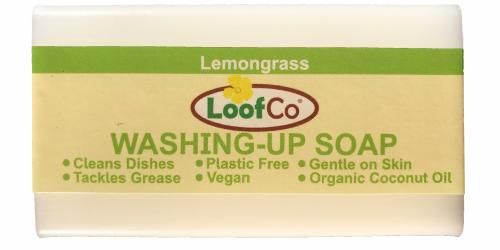 Sapun solid pentru vase cu lemongrass LoofCo100 g - Biberoane tetine -