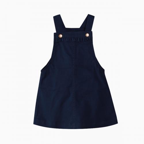 Sarafan cu bretele reglabile Zippy - Bleumarin - Imbracaminte copii - Rochii fetite