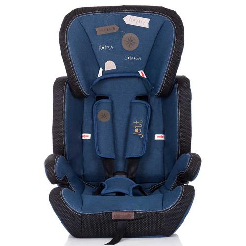 Scaun auto Chipolino Jett 9-36 kg blue denim - Scaune Auto  - Mediu 9-36 kg