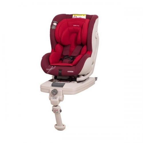 Scaun auto Coto Baby Aurora isofix 0-18 kg red - Scaune cu isofix -