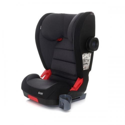 Scaun auto Coto Baby Bari isofix 15-36 kg Black - Scaune cu isofix -