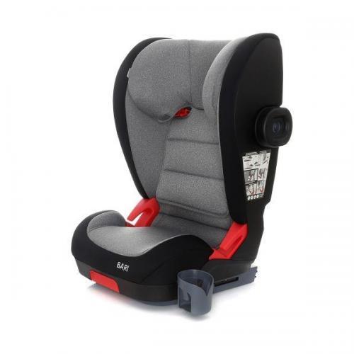 Scaun auto Coto Baby Bari isofix 15-36 kg Dark Grey Melange - Scaune cu isofix -