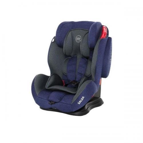 Scaun auto Coto Baby Salsa 9-36 kg Melange Blue - Scaune Auto  - Mediu 9-36 kg