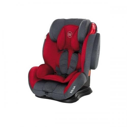 Scaun auto Coto Baby Salsa 9-36 kg Melange Red - Scaune Auto  - Mediu 9-36 kg