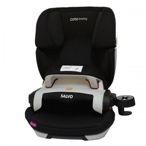 Scaun auto Coto Baby Salvo isofix 9-36 kg black - Scaune cu isofix -