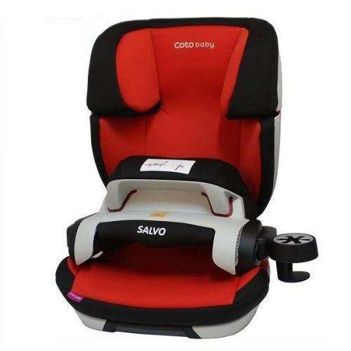Scaun auto Coto Baby Salvo isofix 9-36 kg red - Scaune cu isofix -