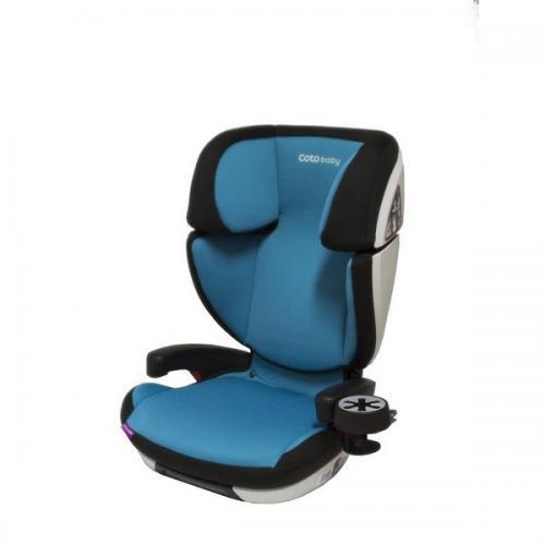 Scaun auto Coto Baby Salvo isofix 9-36 kg turquoise - Scaune cu isofix -
