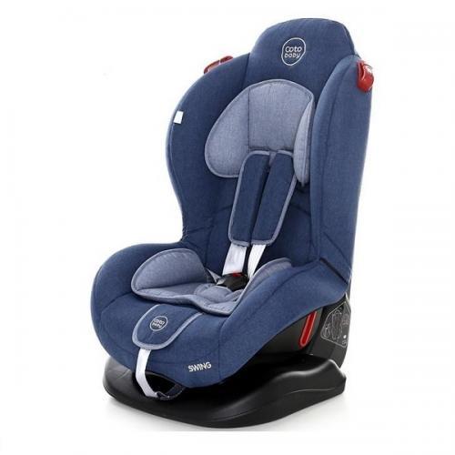 Scaun auto Coto Baby Swing 9-25 kg Melange Blue New - Scaune Auto  - Minor 9-25 kg