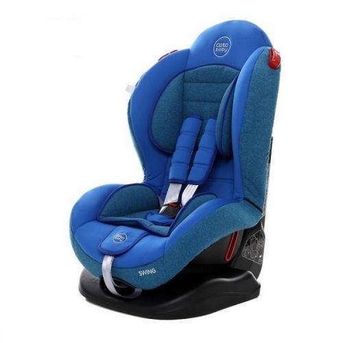 Scaun auto Coto Baby Swing 9-25 kg Melange Blue - Scaune Auto  - Minor 9-25 kg