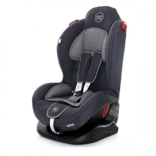 Scaun auto Coto Baby Swing 9-25 kg Melange Dark Grey New - Scaune Auto  - Minor 9-25 kg