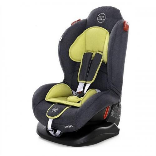 Scaun auto Coto Baby Swing 9-25 kg Melange Olive New - Scaune Auto  - Minor 9-25 kg