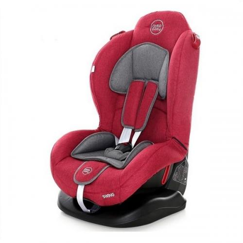 Scaun auto Coto Baby Swing 9-25 kg Melange Red New - Scaune Auto  - Minor 9-25 kg