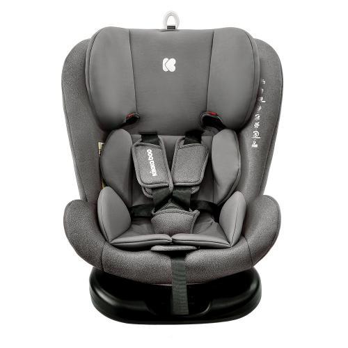 Scaun auto cu isofix 0-1-2-3 (0-36 kg) KikkaBoo Cruz 2020 Dark Grey - Scaune cu isofix -