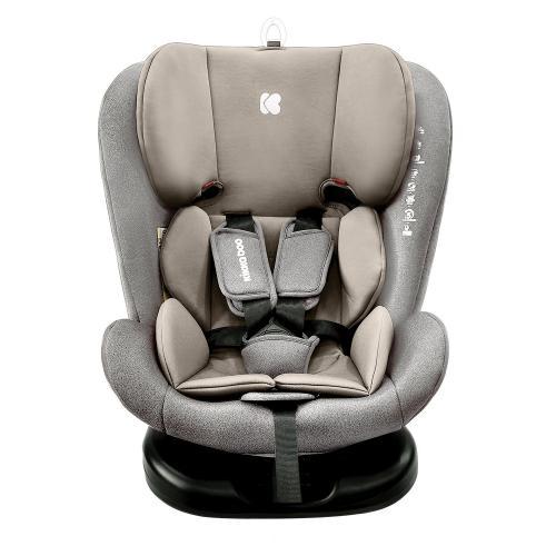 Scaun auto cu isofix 0-1-2-3 (0-36 kg) KikkaBoo Cruz 2020 Light Grey - Scaune cu isofix -