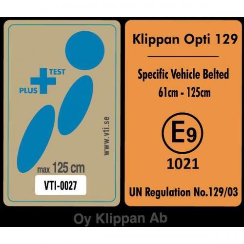 Scaun auto Klippan OPTI129 i-Size Rearfacing 125 cm32 Kg Sport - Scaune cu isofix -