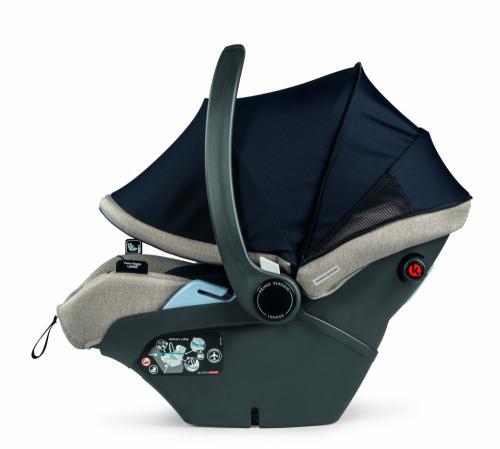 Scaun auto Peg Perego Primoviaggio Lounge Luxe Ecru 40 - 87 cm 0-13 kg - Scaune Auto  - Bebe 0-13kg
